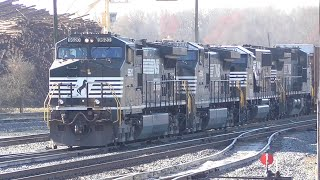getlinkyoutube.com-[2C] Norfolk Southern Trains in the Heart of Georgia, Part 1/3, Macon GA, 03/05/2016 ©mbmars01