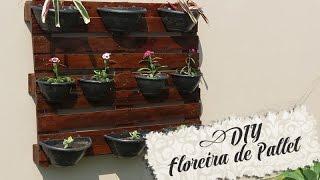 getlinkyoutube.com-DIY - Floreira com Pallet (Jardim Vertical) - Daiana Henckes