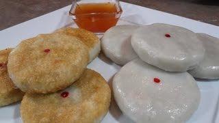 getlinkyoutube.com-Chinese Chive Bun Taro Flavor Recipe