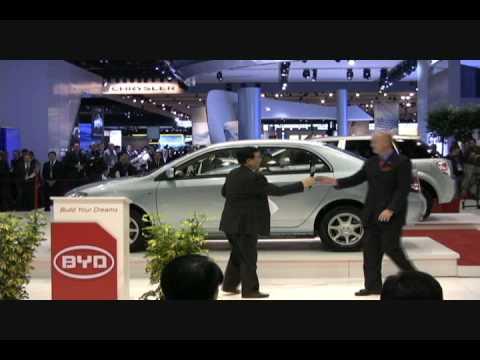 F3DM, .. Electric, BYD, Detroit Auto Show.