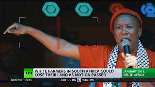 'Now is the time for justice': South Africa votes to confiscate white-owned land
