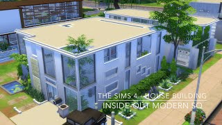 The Sims 4 - House Building - Inside-Out Modern SQ