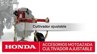 getlinkyoutube.com-Accesorios para motoazadas Honda - Cultivador ajustable