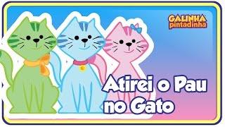 getlinkyoutube.com-Atirei o pau no gato - DVD Galinha Pintadinha 2 - Para Crianças e Bebês