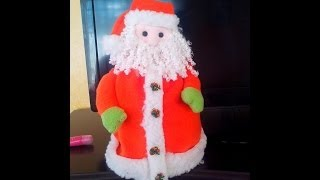 getlinkyoutube.com-Cubre Rollo Papa Noel