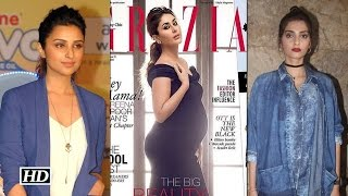 getlinkyoutube.com-Sonam and Parineeti all praises to Kareena's magazine cover