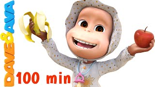 getlinkyoutube.com-Apples and Bananas Song | Nursery Rhymes Collection and Baby Songs from Dave and Ava