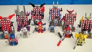 getlinkyoutube.com-TRANSFORMERS CUSTOM KREONS COLLECTION SERIES 1 VIDEO TOY REVIEW BUILD