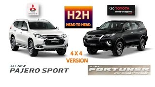 getlinkyoutube.com-Head2Head #27 All New Mitsubishi Pajero Sport vs All New Toyota Fortuner