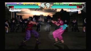 getlinkyoutube.com-Tekken Tag Team Tournament - Xiaoyu & Panda Playthrough (Request)