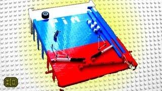 getlinkyoutube.com-Lego Pinball Machine - V3 *HUGE*