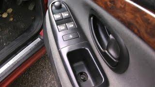 getlinkyoutube.com-Peugeot citroen window door switch repair