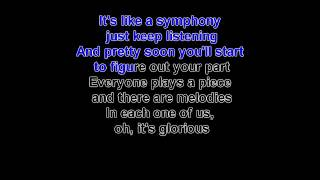 glorious by david archuleta (karaoke with lead vocals) width=