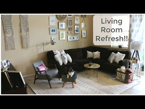 Living Room DIY Refresh!