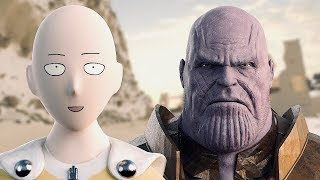 Thanos vs. Saitama (One Punch Man) | Part I