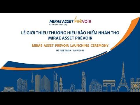 Lễ giới thiệu thương hiệu Mirae Asset Prévoir