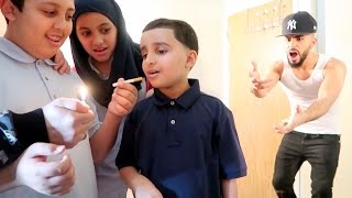 getlinkyoutube.com-KIDS SMOKING CIGARETTES PRANK!!!