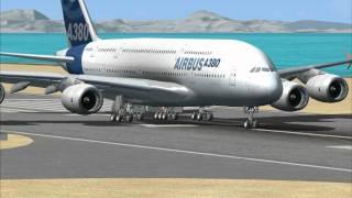 getlinkyoutube.com-Microsoft Flight Simulator X: Airbus A380 test run with FMGC demo