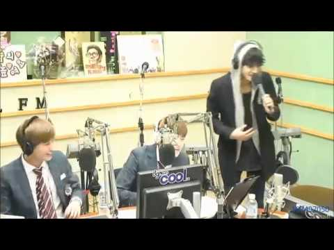 Jung joon young sing Wolf EXO