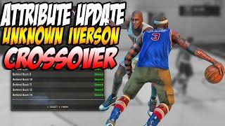 Secret Allen Iverson Crossover - Attribute Signature SKills and Attribute Update