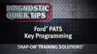 getlinkyoutube.com-Ford® PATS Key Programming- Diagnostic Quick Tips | Snap-on Training Solutions®