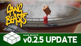 getlinkyoutube.com-Gang Beasts v0.2.5 Update - Chute, Towers & Elevators