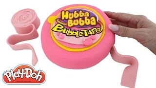 getlinkyoutube.com-Play Doh How to Make a Giant Hubba Bubba with Play-Doh DIY RainbowLearning