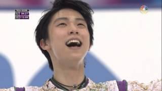 getlinkyoutube.com-Yuzuru HANYU - NHK Trophy 2015 - LP (NBC)