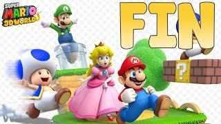 getlinkyoutube.com-FIN | Let's Play SUPER MARIO 3D WORLD Nintendo Wii U Français Fr