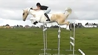 "getlinkyoutube.com-""Free Riding"" Jumping huge bareback"