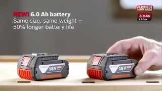 Bosch Blue Professional - 10.8V, 18V and 36V Battery Flexible Power System
