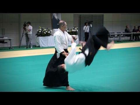 Toshiyuki Arai (荒井俊幸) - Aikido Demonstration - 12th IAF Congress (2016)