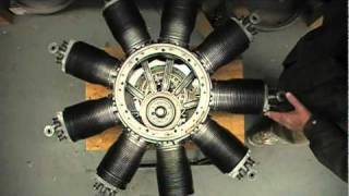 getlinkyoutube.com-LeRhone Rotary Engine Inner Workings