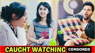 Indian Boy Watching Porn Videos at Late Night Hot Girlfriend Caught Me - Latest Video width=