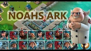getlinkyoutube.com-ALL UNITS VS DR TERROR | Boom Beach | NOAHS ARK ATTACK