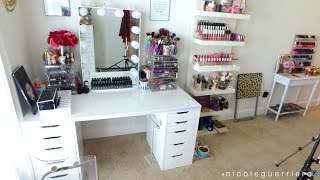 getlinkyoutube.com-Beauty Room | Studio Tour -- Nicole Guerriero