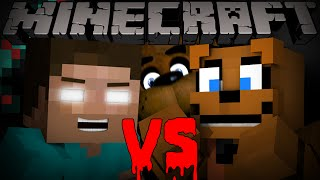 getlinkyoutube.com-Herobrine vs Freddy Fazbear