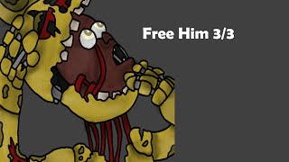 Free Him 3/3 | Five Nights At Freddy's 3 | Speed Paint