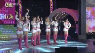 getlinkyoutube.com-HD SNSD - Oh! (without Yuri Sunny) Mar03.2010 GIRLS' GENERATION Live 720p
