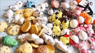 getlinkyoutube.com-Polymer Clay Charms Update #8 : Baymax , Pokemon , Totoro etc