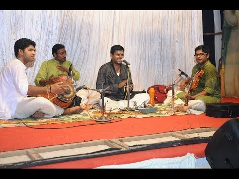 Arangettam of students of Agni with Chengotta Hari-composition of Papanasam Sivan