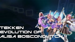 Tekken - Evolution Of Alisa Bosconovitch 2007 - 2017
