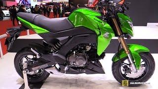 getlinkyoutube.com-2016 Kawasaki Z125 Pro - Walkaround - 2015 Tokyo Motor Show