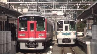 getlinkyoutube.com-小田急1000形1068F 各停箱根湯本ゆき 入生田駅での交換