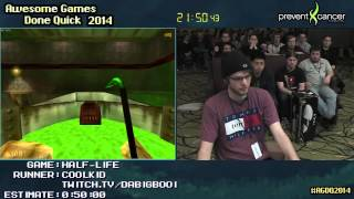 getlinkyoutube.com-Half-Life 'Hard' SPEED RUN (0:39:25) [PC] Live by Coolkid #AGDQ 2014