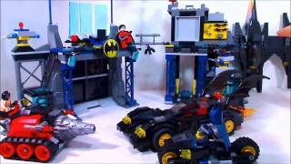 getlinkyoutube.com-Lego 2012 SuperHeroes The Batcave Review