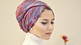 getlinkyoutube.com-TURBAN TUTORIAL WITH LIBERTY LONDON | OOTD!