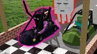 Monster School: Swimming   Brewing   Car Racing   Boys vs. Girls   (Monster School Compilation)