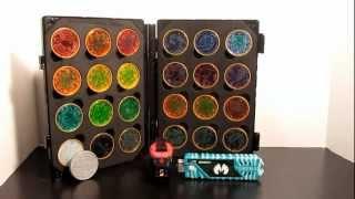 getlinkyoutube.com-(Kamen Rider  OOO) O-Medal Holder Review/ Core Medal Collection
