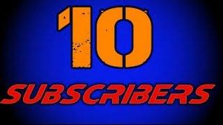 getlinkyoutube.com-10 Subscribers Celebration Tutorial Video